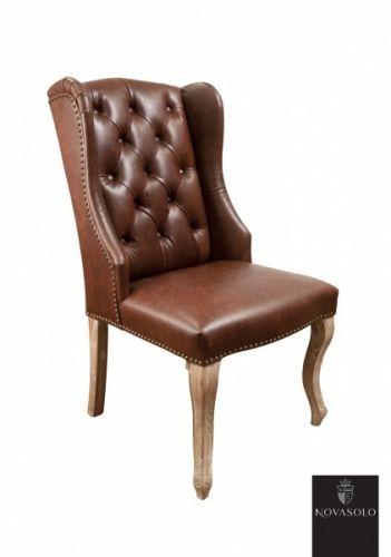 En av våre bestselgende stoler er nå på vei inn i ny drakt! Avignon spisestol med vinger i skinn er et kjærkomment tilskudd til våre kolleksjon!Forventet inn i april/mai - ved interesse ta gjerne kontakt!