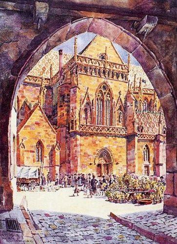 Colmar Hansi Place de la Cathédrale