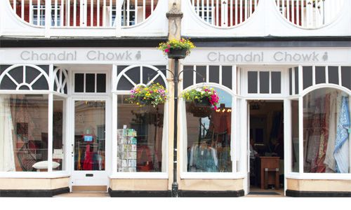 Chandni Chowk Wellington. 10 High street, Wellintgton, Somerset, TA21 8RA Open Monday - Saturday 10am - 5pm