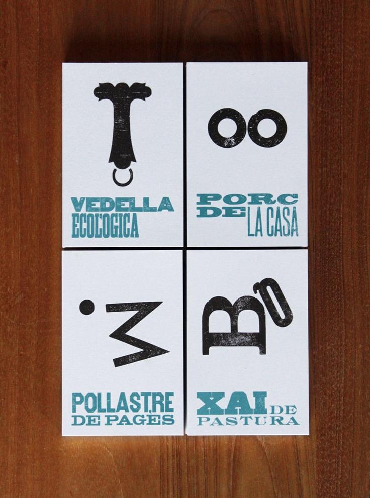 Bronce Laus 2012 | Logotipo |  Título: Cal Cabrer |  Autor: Senyor Estudi |  Cliente: Cal Cabrer