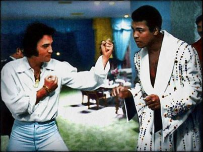 Elvis and Muhamid Ali