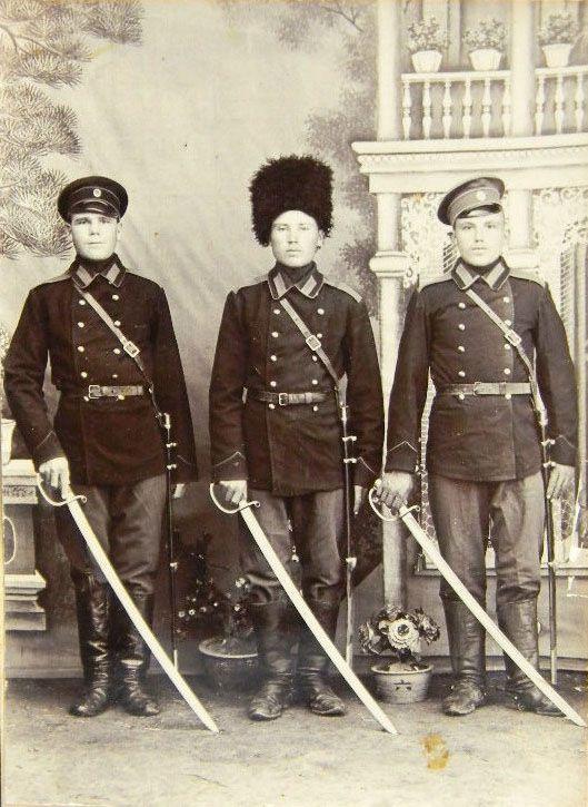 Three Russian Cossacks, WWI