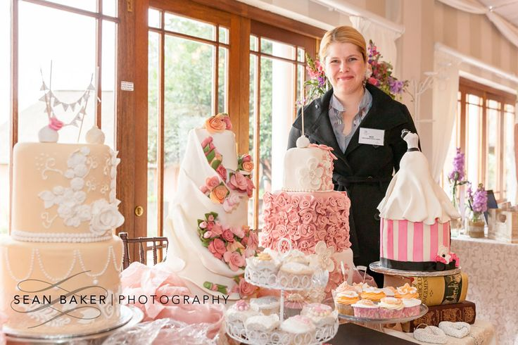 Delicious cakes by @Roz's Beautiful Cakes! Photo by @seanbakerphoto
