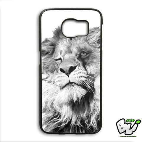 Funny Lion Samsung Galaxy S6 Edge Case