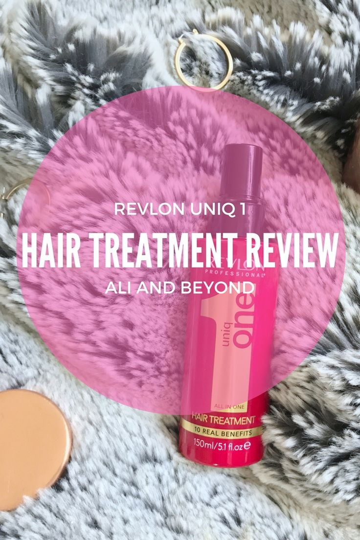 Revlon Uniq 1 All in One Hair Treatment Review // Ali and Beyond. The perfect treatment for damaged or dry hair. Ideal as a pre-styling treatment.