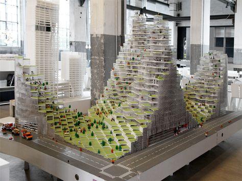 BIG | Bjarke Ingels Group Office in Copenhagen #model