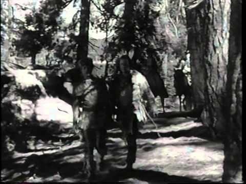 """THE IROQUOIS TRAIL"" George Montgomery, Brenda Marshall, Sheldon Leonard. 6-16-1950. - YouTube"