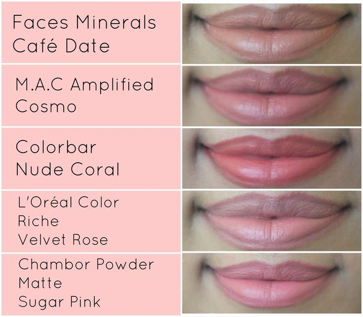 TOP 5 NUDE & PALE PINK LIPSTICKS FOR INDIAN SKIN TONE | All She Needs