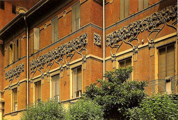 Palazzina Crespi, Bologna.: Applying Art, De L Art, L Art Nouveau, Art Especi
