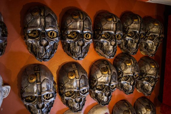 Corvo Attano Inspired Dishonored Korvo Fan Art Mask By