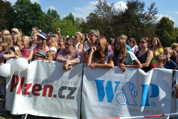 koncert, fanoušci, lidi