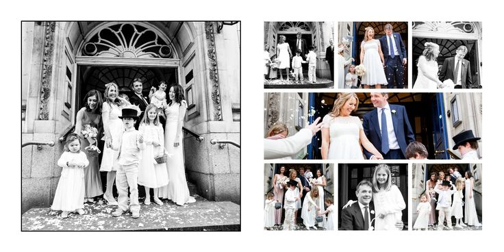 classic confetti on the steps shots! by me, www.beckiehoodphotogrpahy.co.uk