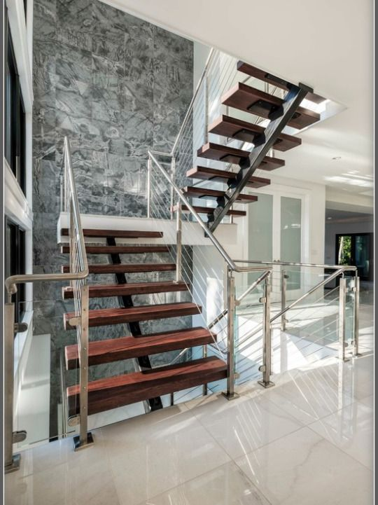 84 best Stair Railings Cable and Bar images on Pinterest