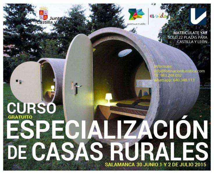 #TurismoRural Curso Estrategias de  especialización y diferenciación para casas rurales