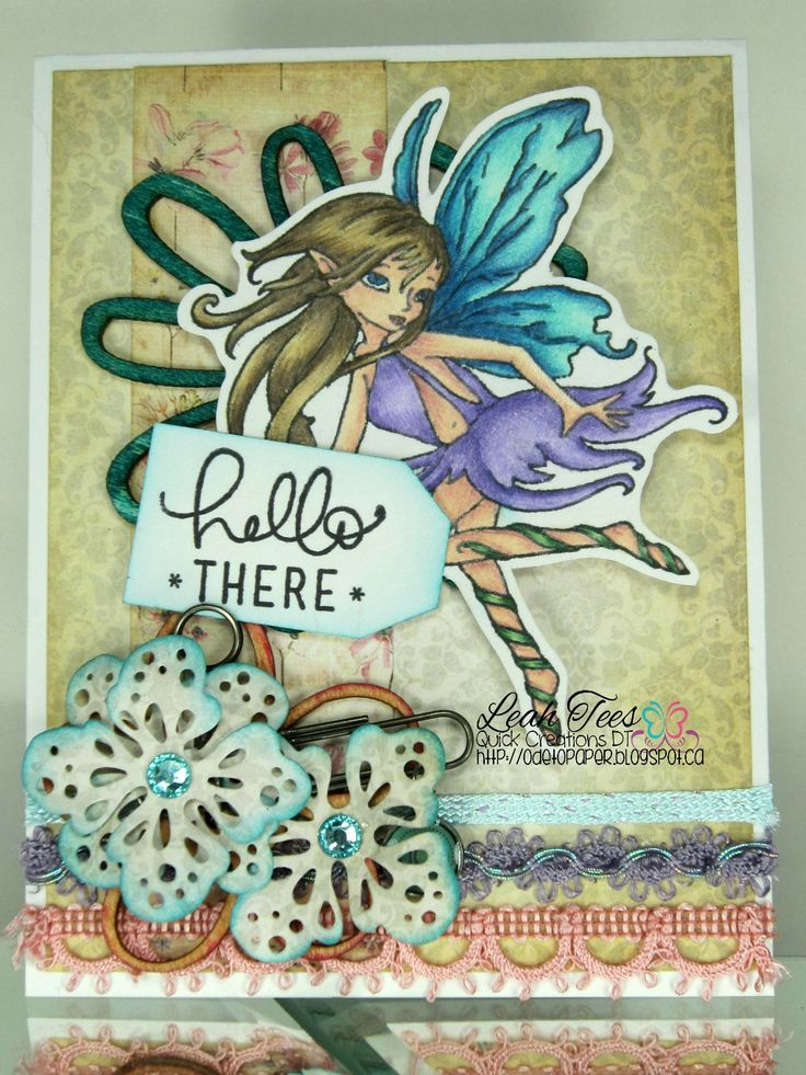 Little Darlings/From the Hollow's Serena for Quick Creations, February 2016, created by Leah Tees, odetopaper.blogspot.ca