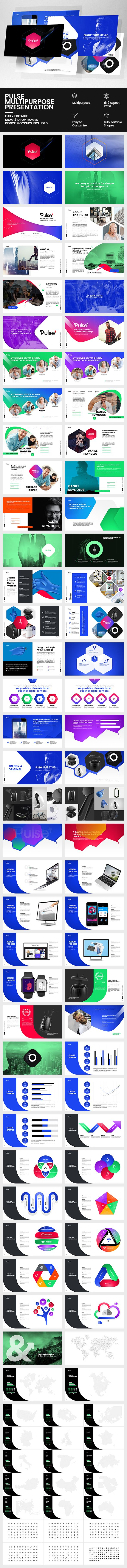 Pulse Multipurpose Presentation — Powerpoint PPT #pitch deck #mockup • Available here ➝ https://graphicriver.net/item/pulse-multipurpose-presentation/20580861?ref=pxcr