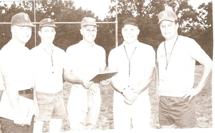 Brentwood Missouri High School Football Coach    Brentwood High School football coaches for 1969.
