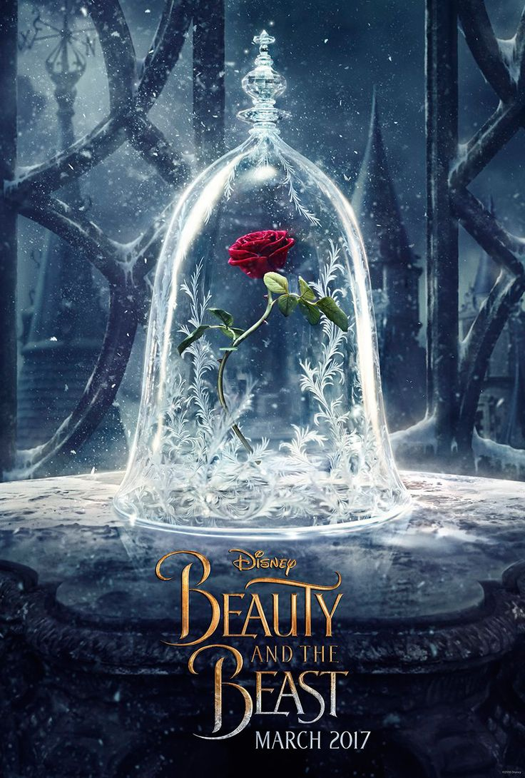 Disney Releases Teaser Poster For Live-Action 'Beauty And The Beast' I CANNOT WAIT!! <3