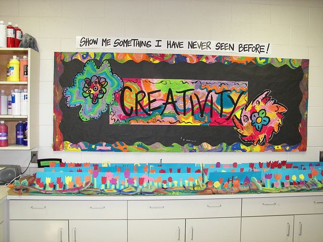 """""""Show me something I have never seen before"""" Great message to send to students."""