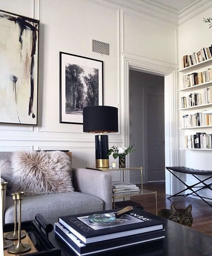 Chic New York Style Living Space Home Decor Mirrors Interior House Interior