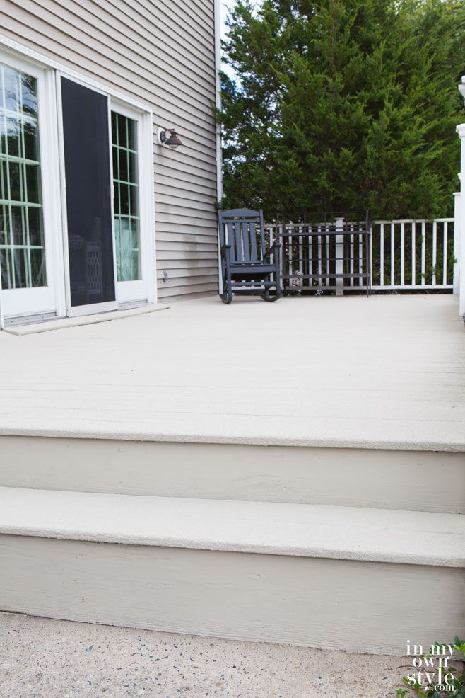 Best 25 deck restore ideas on pinterest diy deck behr for Compare composite decking brands