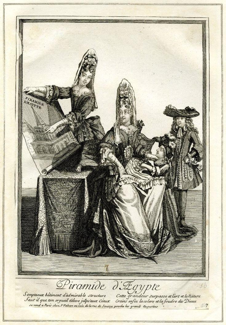17th century fashion plate