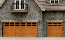 1000 images about faux wood garage doors fiberglass for Wood grain steel garage doors