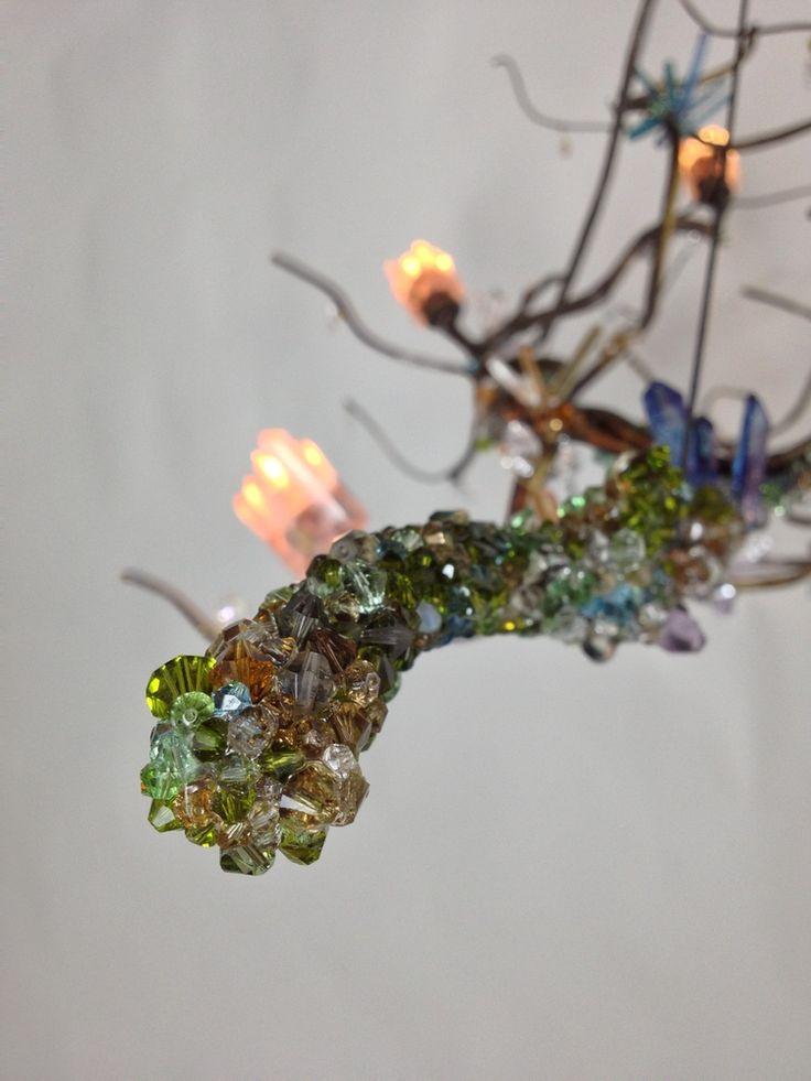 detail fantasy branch chandelier designer lights pinterest branches fantasy and chandeliers. Black Bedroom Furniture Sets. Home Design Ideas