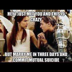 Oh Romeo and Juliet.... Oh the logic!