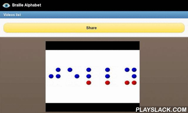 Braille Alphabet  Android App - playslack.com , Learn the Braille alphabet with this application. If you have someone visually impaired or with other visual dysfuntion in the family and want to learn the Braille alphabet now you can with this application. Obviously you can not practice with mobile, it is not possible, but you will learn all the theoretical Braille language. Our selected lessons and classes will help you understand the braille with ease, and it is free. This application…