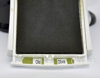 Comment étiqueter Stampin Up ! Tampons encreurs . Ce est une bonne idée si vous pouvez avoir plus d'un ouvert sur la table et ne pas plonger dans la mauvaise couleur.