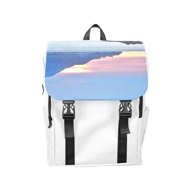 Sunrise in Tourelle Casual Shoulders Backpack (Model 1623)