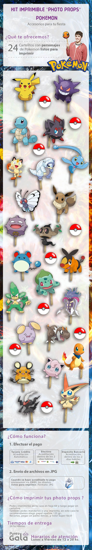 Kit Imprimible Pokemon