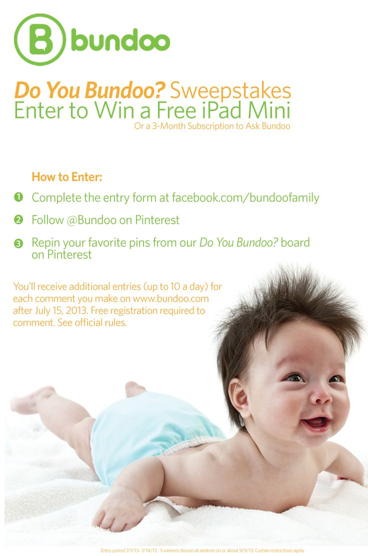 Dreaming of an iPad Mini? We're celebrating the launch of Bundoo.com with an iPad Mini contest. Enter to win!