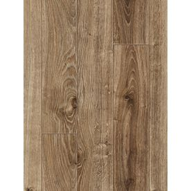 allen roth�5-in W x 50-13/16-in L Handscraped Driftwood Oak Laminate Flooring - I think this is it! I love this!