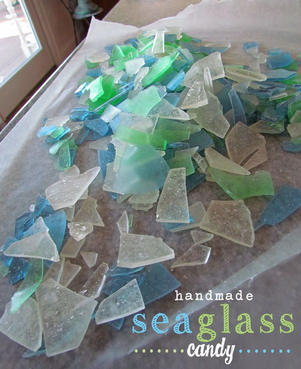 Recently, I received an email from my friend Joan, with a recipe for sea glass candy. Joan thought this recipe would be something my girls and I would like to make together. Joan just loves the bea...