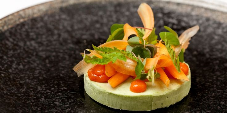 The stars of Christoffer Hruskova's striking sweet cicely and sea buckthorn dish can be foraged with a little know-how