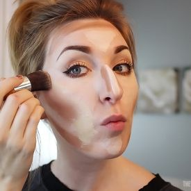 How To Highlight and Contour the easy way!@Shari Brown Brown Brown Brown Stidham