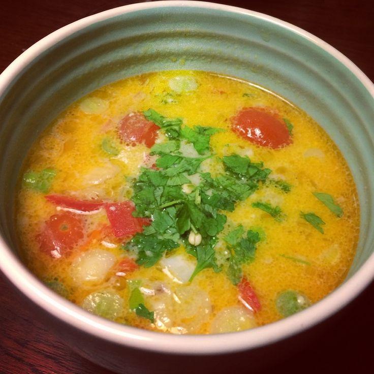 Thai-kokus-suppe