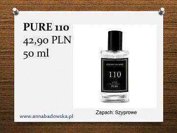 Perfumy PURE 110 męskie szyprowe