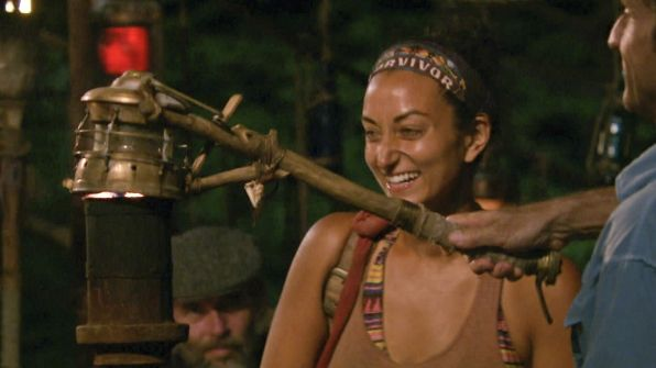 SURVIVOR WORLDS APART EP 10: Russian Roulette Outs Shirin - http://movietvtechgeeks.com/survivor-worlds-apart-ep-10-russian-roulette-outs-shirin/-Tensions were mounting higher than ever on Survivor Worlds Apart as Dan said that when Mike went off on people last week he blew their trust in him. Dan asked Shirin how she was and she said she always has a Pavlov reaction when men yell at her