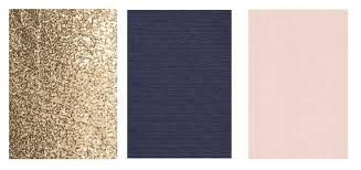 blush and navy and gold wedding - Google Search