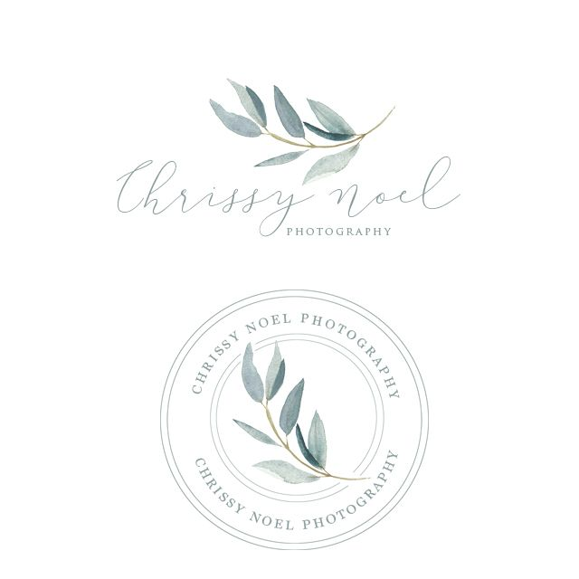 Chrissy Noel Photography Logo Design by Harper Maven Design | www.harpermavendesign.com