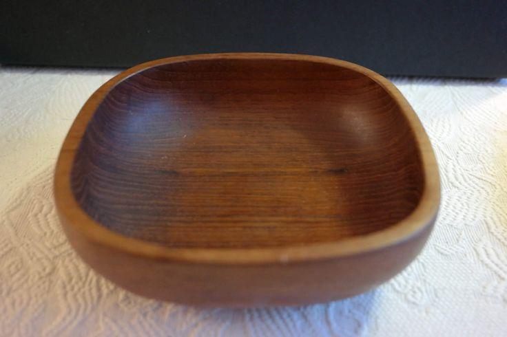 Vintage teak bowl by Swedenretro on Etsy