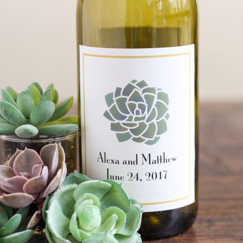 Make the night yours with personalized wine labels!