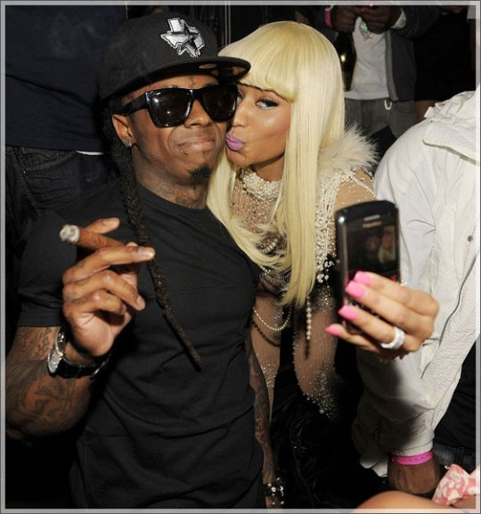 Lil Wayne and Nicki Minaj