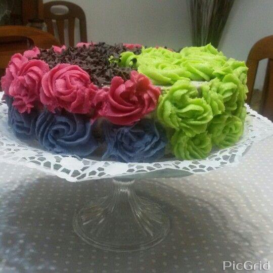 ♦Birthday Cake/ Bolo de anos♦Mafalda♦Homemade/ Feito em casa♦