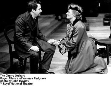 """The Cherry Orchard"" - 2000. Vanessa Redgrave, Roger Allam - National Theatre London"