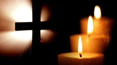 stock-footage-cross-and-three-candles-in-dark.jpg (400×224)