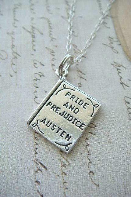 PRIDE and PREJUDICE by AUSTEN which I did get from my lovely niece Jennifer. It is as pretty as the picture. I'll leave this up for soyla and sarah